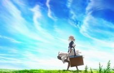 Anime Series Like Violet Evergarden Violet Evergarden Wallpaper, Wallpaper Backgrounds, Strong Female Anime Characters, Female Protagonist, Laptop Wallpaper, Wallpaper Notebook, Fandoms, Ghost In The Shell, Great Stories