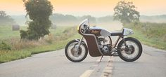 Analog Motorcycles » Indian Continental Scout - Bikers Cafe