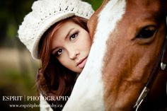 Pose for Savanna on wedding day with her horse... I want to do a photo shoot with horses so bad!!