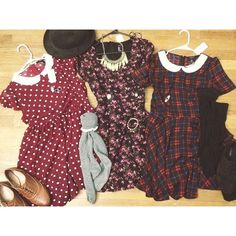 Peter pan collar dresses. Fall dresses