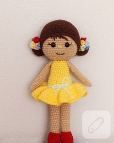 Amigurumi knitting toy recipes and models you can meet with a great web site you're aware of a click away from? This Pin was discovered by Tutorial Amigurumi, Amigurumi Toys, Crochet Patterns Amigurumi, Baby Knitting Patterns, Crochet Fish, Cute Crochet, Knitted Dolls, Crochet Dolls, Sewing Toys