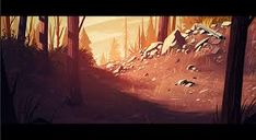 Image result for firewatch concept art