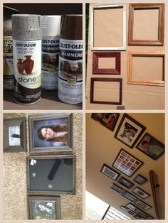 DIY: Thrift Store Frames