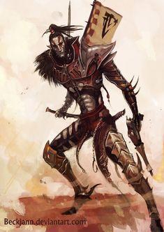 Dark Eldar: Wych 2 by ~Beckjann on deviantART