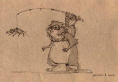sketch Peter Han