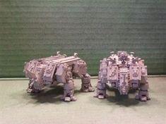 2 Rhino Dreads are better than one. - Warhammer 40k Forum Tau Online