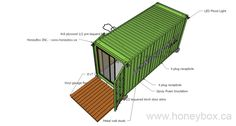 3 uno - honeybox inc - container house