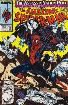 The Amazing Spider-Man #322 - Late October 1989