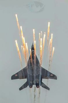 Mig -29 Fulcrum Polish Air Force, European version of a Texas UFO sighting.
