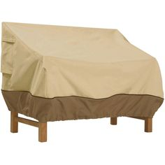 Wonderful Outdoor Bench Cover Beige Patio Furniture Waterproof Protection Small 58 X  32.5 Part 9