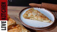 #2 Η πιο Νόστιμη & Εύκολη Τυρόπιτα( Καλύτερη και από Φούρνο)!!The Best C... Cheese Pies, Camembert Cheese, Burek Recipe, Good Food, Yummy Food, Delicious Recipes, Best Cheese, Greek Recipes, Kitchen Living