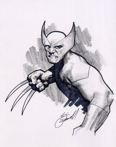 Eric Powell WOLVERINE, in TIM TOWNSEND's ERIC POWELL Comic Art ...