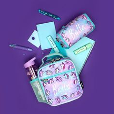 Pastel Unicorns 🦄 classic 👌🏼 #backtoschool Back To School, Convenience Store, Packing, Rainbow, Personalised Gifts, Unicorns, Pastel, Classic, Stationery Shop