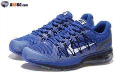 online store 4ecca f13a3 New Air Max 2020 Semi-palm Cushion Mens Running Shoes Navy Blue Black  1801-AIRMAX20M-2   -  89.00