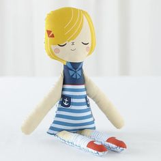 The Land of Nod | Kids Dolls: Suzy Ultman Dolls Suzy Q in Dolls & Plush Toys