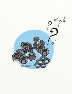 Ilustración pata los retos matemáticos de @tocamates http://www.tocamates.com/que-compre/