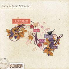 Scrapbooking TammyTags -- TT - Designer - Kimeric Kreations, TT - Item - Word Art, TT - Style - Cluster, TT - Theme - Autumn or Thanksgiving