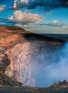 Santiago Volcano. Masaya, Nicaragua