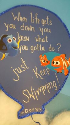 Just keep swimmimg Child Development, Dory, You Got This, Art Projects, Students, Children, Handmade, Young Children, Boys