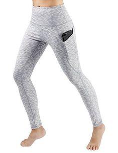 $20.98   I love the phone pocket on these leggings!   High Waist Out Pocket Yoga Pants Tummy Control Workout Running 4 Way Stretch Yoga Leggings   yoga pants   yoga clothes   yoga style   fitness fashion   activewear   workout pants   workout leggings   fitness   athleisure   #affiliate #yogapants