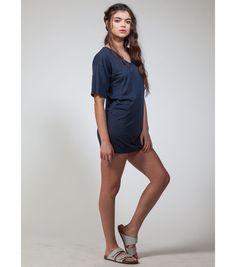 Burnout Mini T-Shirt Dress