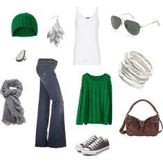 Greens & jeans