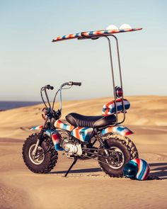 deus ex machina and paul mcneil create the rebellious 'goof bike' Deus Ex Machina Motorcycles, Cool Motorcycles, Baroque, Rv, Shelby Gt350r, Ape Hangers, Bizarre, Bike Wheel, Mini Bike