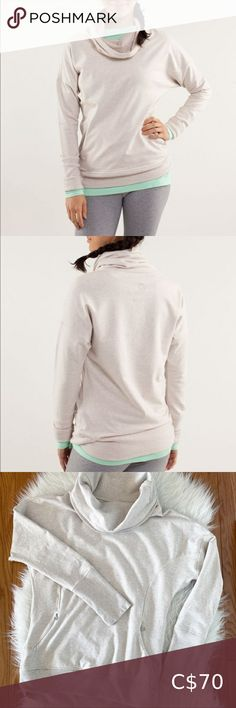🦄 Rare Lululemon Rest Day Pullover Lululemon Rest Day Pullover Heathered Dune Size 2 French terry fabric, cozy cowl neck, zippered kangaroo pocket. Like-new condition, no flaws to note. lululemon athletica Sweaters Cowl & Turtlenecks Turtleneck Sweatshirt, Cowl Neck Hoodie, Pullover Sweaters, Lululemon Scuba Hoodie, Under Pants, Lulu Lemon, Turtlenecks, French Terry