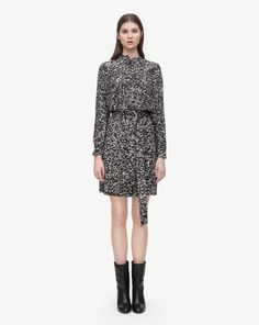 Print Shirt Dress - Dresses - Shop Woman - Filippa K