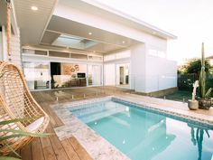 Home refurbishment can completely give a facelift to an otherwise old-looking house. Best Secrets Home Renovation Remodel Your Living Space Ideas. Home Renovation, Home Remodeling, Living Pool, Outdoor Living, Living Fence, Backyard Beach, Home Modern, House Goals, Future House