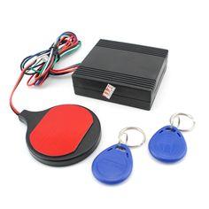 YH-8903 de inducción tarjeta de identificación de la motocicleta warded alarma cerradura