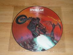 MEAT LOAF - Bat Out Of Hell - PICTURE DISC VINYL LP