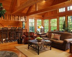 Spaces Log Cabin Kitchens Design, Pictures, Remodel, Decor and Ideas - page 47