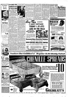 Find historical newspapers from Chicago Tribune. Lake Cottage, Chicago Tribune, Flyers, Archive, September, Lost, How To Plan, Fun, Ruffles