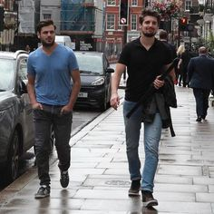 In London ready to start recording their 4th album (with the London Symphony Orchestra no less!) #stjepanhauser #lukasulic #2Cellos #London #recording #lso