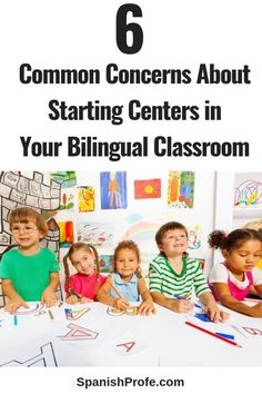 Thinking about starting centers for literacy, reading or math in your bilingual classroom. Have concerns or questions about center set up, problems, organization and more. Read this series for Spanish immersion, bilingual and dual language teachers that a
