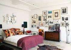 Bedroom wall, bedroom decor, bedroom frames, bedroom interiors, cozy be Bedroom Frames, Bedroom Pictures, Home Bedroom, Bedroom Wall, Bedroom Decor, Messy Bedroom, Bedroom Interiors, Wall Decor, Dream Bedroom