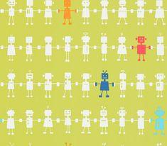 Reggie Robot wallpaper by Harlequin