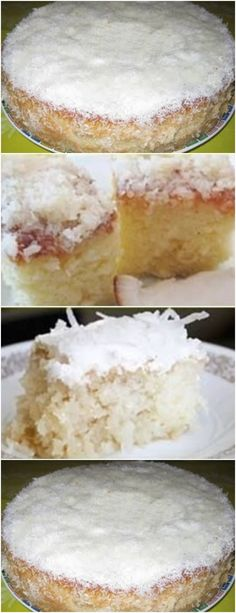 BOLO DE LEITE O MELHOR QUE EXISTE!!!#receita#bolo#torta#doce#sobremesa#aniversario#pudim#mousse#pave#Cheesecake#chocolate#confeitaria# Juicy Fruit, Camembert Cheese, Bakery, Sweets, Bread, Mousse, Cheesecake, Recipes, Pastel