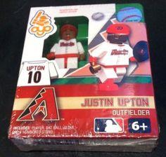 Justin Upton Arizona Diamondbacks MLB Mini Figure by Oyo Sports NIB NIP D'Backs