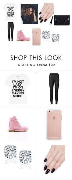 """""""i'm not lazy"""" by bae03 on Polyvore featuring Timberland and ncLA"""