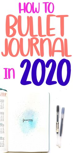 Learn how to make a bullet journal in 2020! Great ideas perfect for beginners. Bullet journal supplies, layouts, trackers, help, tips, inspiration, and advice for everything related to starting a bujo. Bullet journals are great for kids, teens, and adults who want a creative way to get organized. #bulletjournal #howtobulletjournal #howtojournal #bujo #bulletjournalcommunity #planner #journal #journalideas #journaling