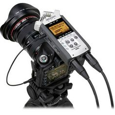 DSLR Audio | Rigging Up A DSLR Camera To Capture Pro Audio -