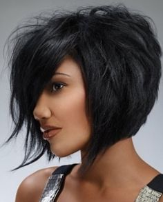 I would never gothis short but I love this hairstyle!  Soft Layered Bob Hair Styles