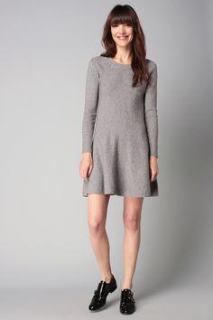 Robe pull gris  - Molly Bracken