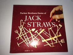 Vintage 1960s Parker Brothers Game of JACK STRAWS Cool Plastic Tools by CrystalTreasureTrunk on Etsy