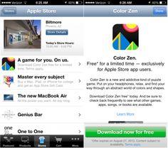 Apple Ofrece Apps Gratis a Través de la App Apple Store para iOS