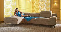 jade fabric lounge - nick scali