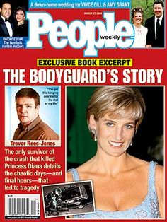 2000  The Survivor  Two and a Half Years After the Wreck That Killed Diana and Dodi, Bodyguard Trevor Rees-Jones Tells His Story