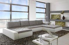 Wohnlandschaft PANAMERA Kunstleder.  Auf dieser außergewöhnlichen Wohnlandschaft macht Ihre ganze Familie die beste Figur! Dieses Möbelstück kaufen Sie bequem + sicher in unserem Onlineshop. Die Produkte von riess-ambiente.de lassen sich vielseitig auch untereinander kombinieren. Holen Sie sich mit unseren ausgezeichneten Artikeln den Luxus, den Sie verdienen. Unsere Möbel bieten Ihnen nicht nur den perfekt harmonischen Wohnraum, sondern überzeugen zudem durch Qualität + Design